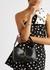 Le 5 à 7 black crocodile-effect shoulder bag - Saint Laurent