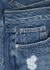 Le Brigette blue denim shorts - Frame