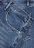 Le Jane dark blue straight-leg jeans - Frame