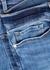 Le Skinny De Jeanne Crop blue jeans - Frame