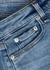 Nina light blue stretch-denim shorts - rag & bone