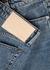 Maya blue cropped flared-leg jeans - rag & bone
