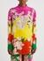 Floral-print silk crepe de chine shirt - Valentino