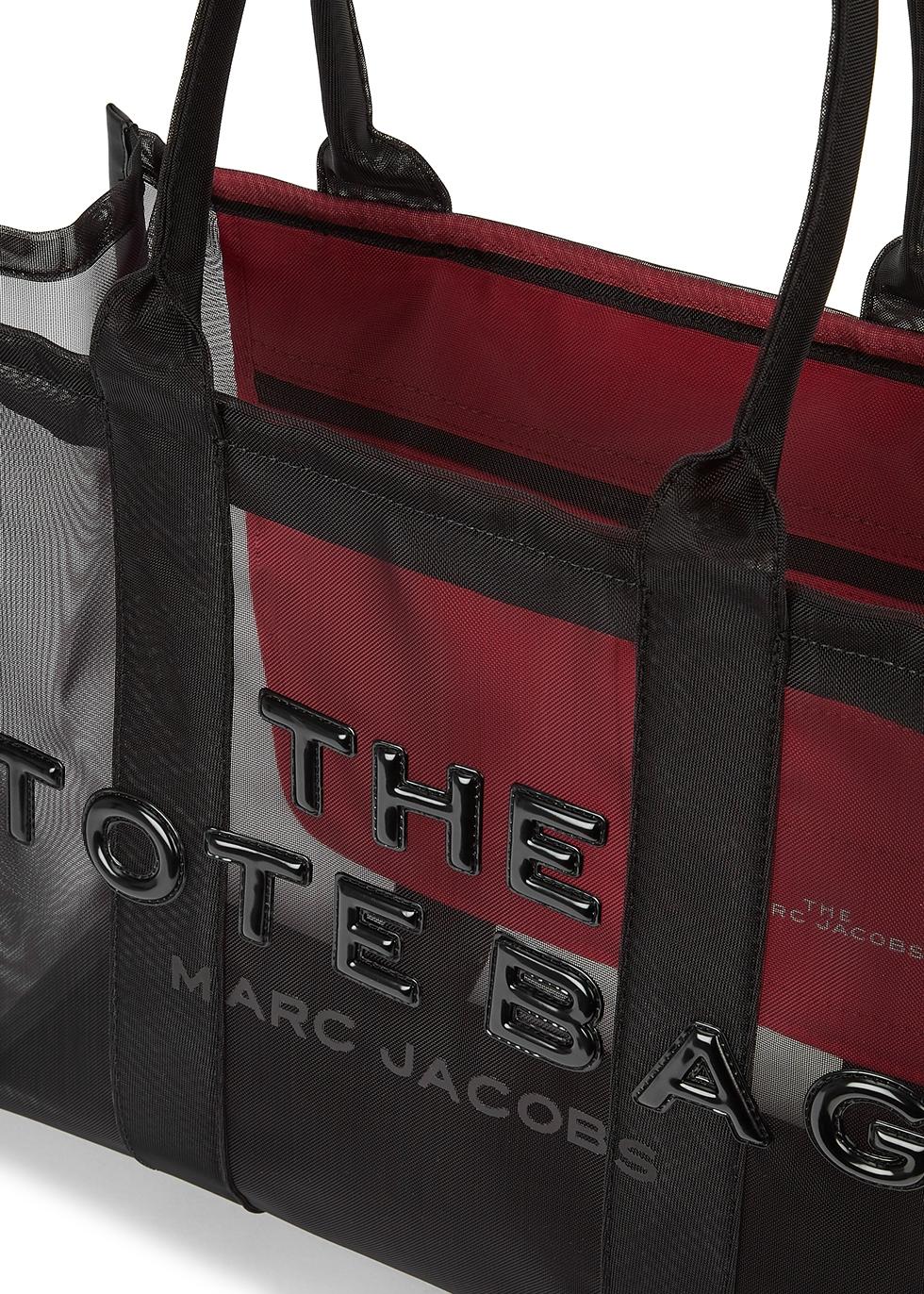 Marc Jacobs (The) The Traveler black mesh tote - Harvey Nichols