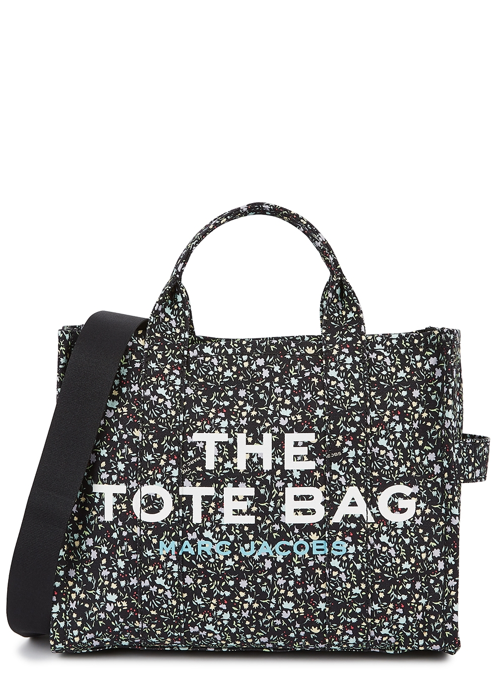 The Traveler small floral-print canvas tote