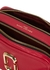 The Softshot 21 raspberry leather cross-body bag - Marc Jacobs (The)
