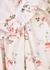 Sofia floral-print cotton midi dress - LUG VON SIGA
