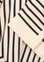 Striped silk crepe de chine blouse - Totême