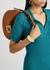 Croissant small brown leather shoulder bag - Fendi
