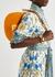 Croissant small orange leather shoulder bag - Fendi