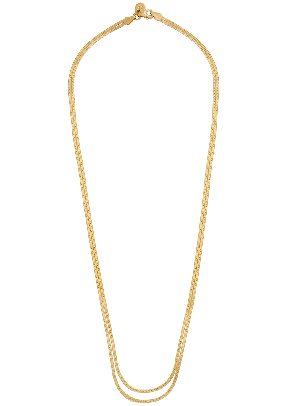 X Estée Lalonde 18kt gold-plated necklace