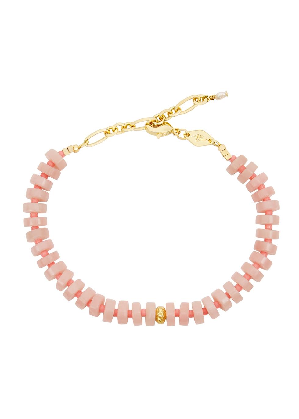 The Big Pink beaded bracelet