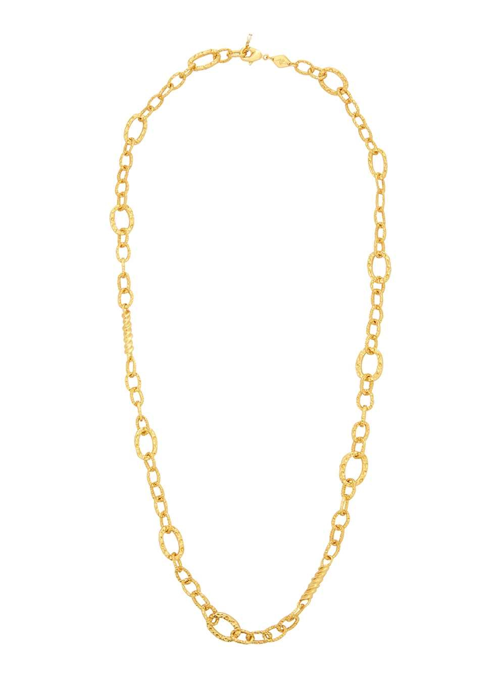 Unchain Me 18kt gold-plated necklace