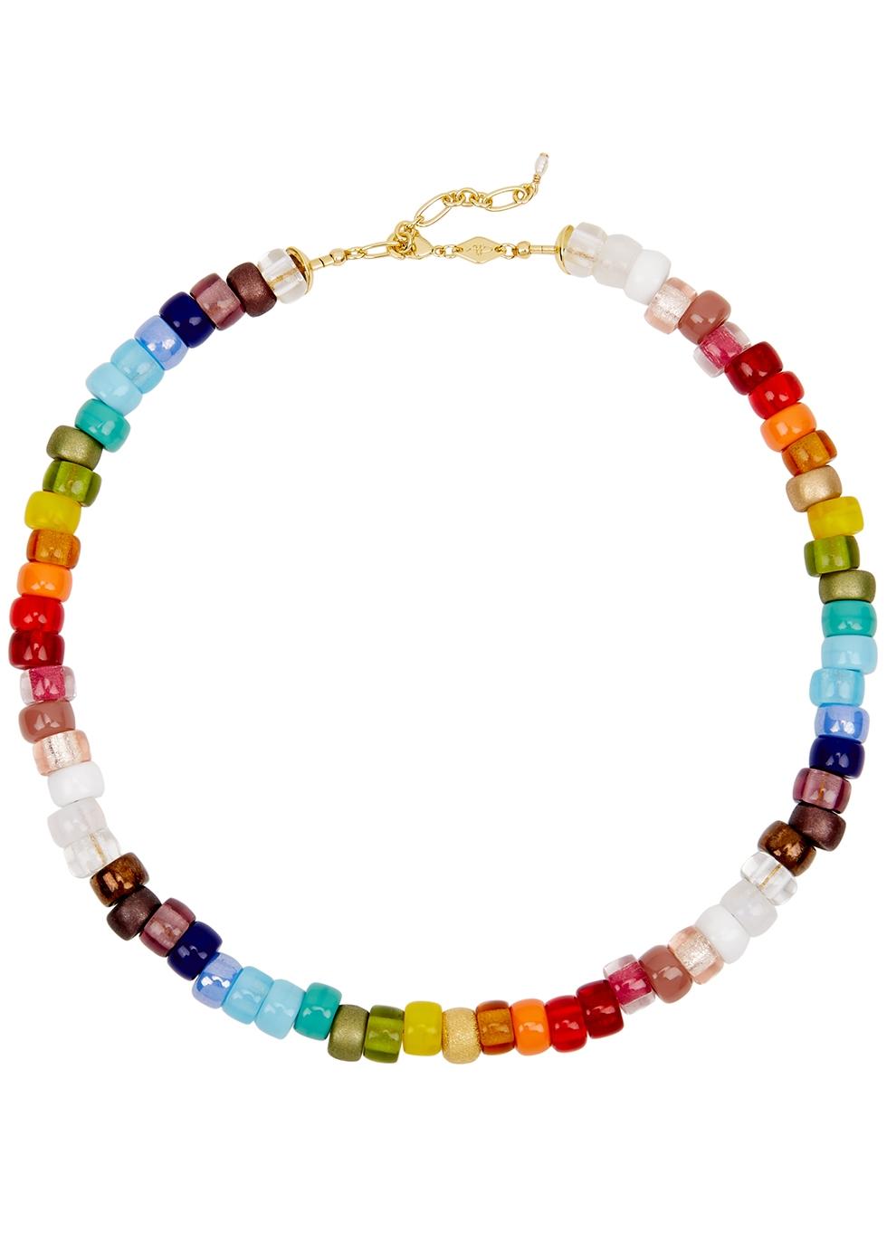 Big Nuanua beaded necklace