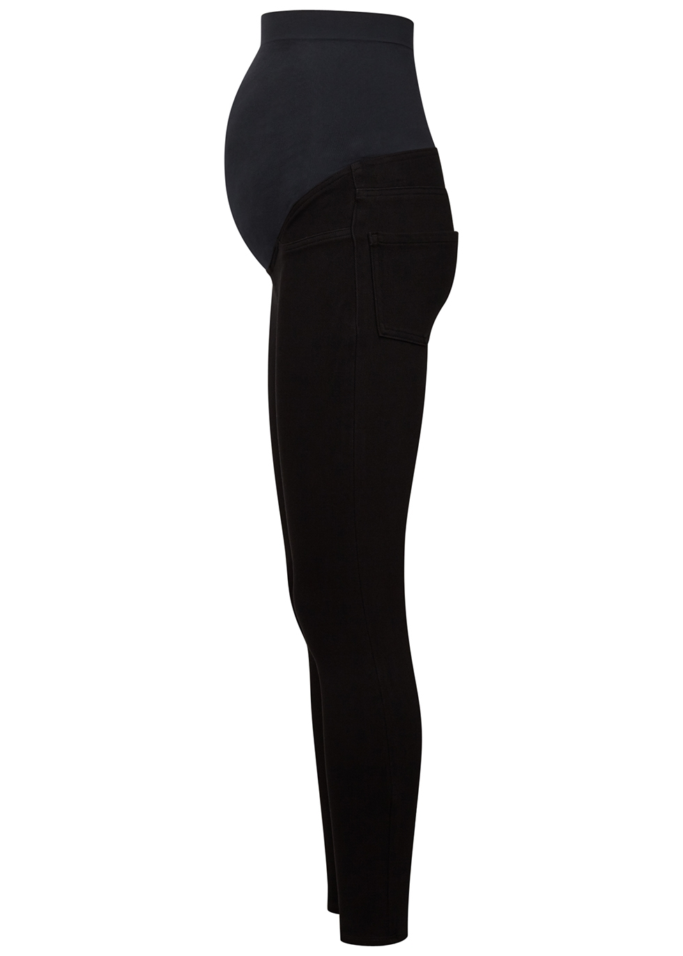 Mama Jean-ish black maternity leggings