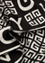 Monochrome logo-print silk scarf - Givenchy