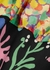 Anastasia printed panelled midi dress - Rixo