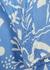 Zadie blue printed dress - RIXO