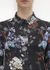 Printed silk satin shirt - MENG
