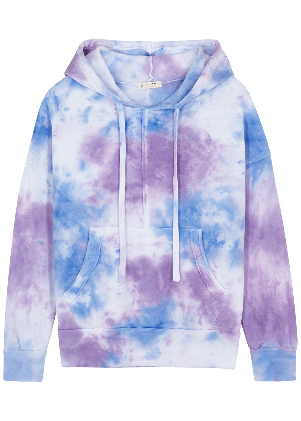 Work It Out tie-dyed hooded sweatshirt