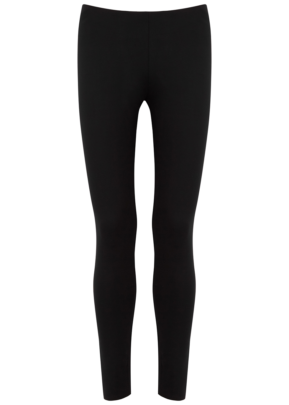 Woolworth black stretch-jersey leggings
