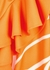 Orange fruit-print top - Boutique Moschino