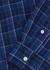 Navy checked cotton Oxford shirt - Polo Ralph Lauren