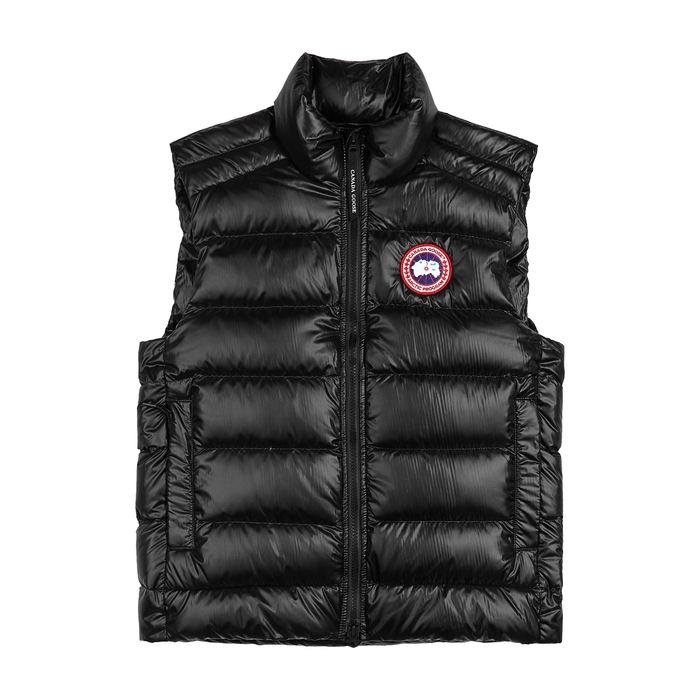 Canada Goose CROFTON BLACK QUILTED SHELL GILET