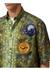 Short-sleeve graphic applique fish-scale print shirt - Burberry