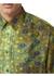 Fish-scale print silk shirt - Burberry