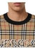 Logo check wool cotton jacquard sweater - Burberry