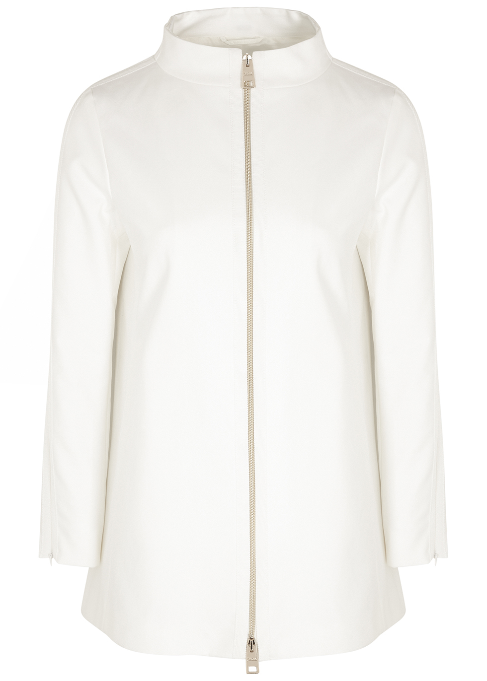 Hepburn white twill jacket