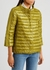 Jewel olive quilted shell jacket - Herno