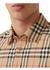 Logo applique vintage check cotton shirt - Burberry