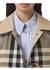 Reversible check cotton car coat - Burberry