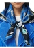Marine sketch print silk square scarf - Burberry