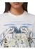 Marine sketch print cotton oversized t-shirt - Burberry