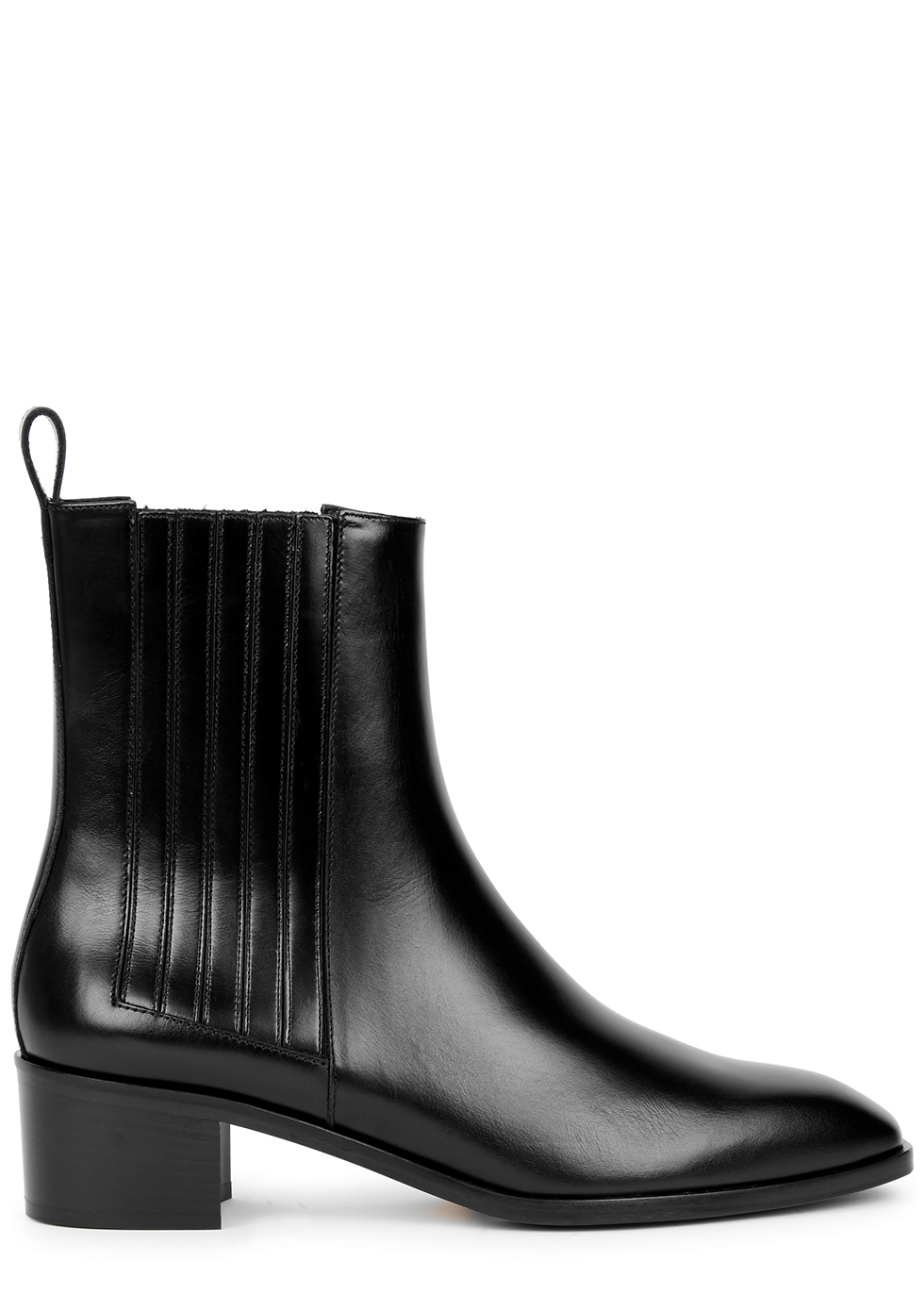 Neil 40 black leather Chelsea boots