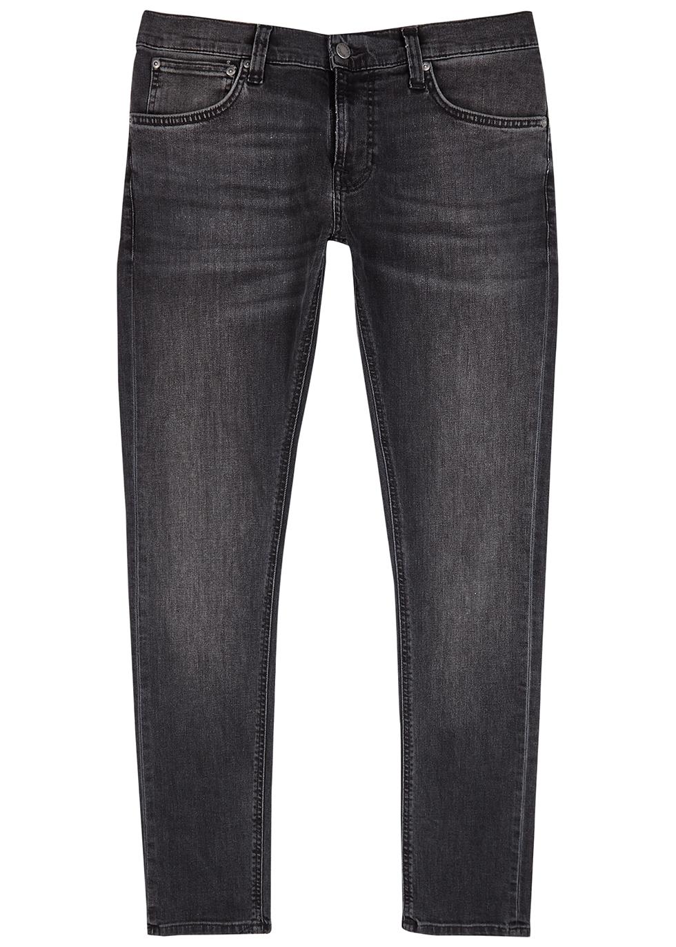 Tight Terry dark grey skinny jeans