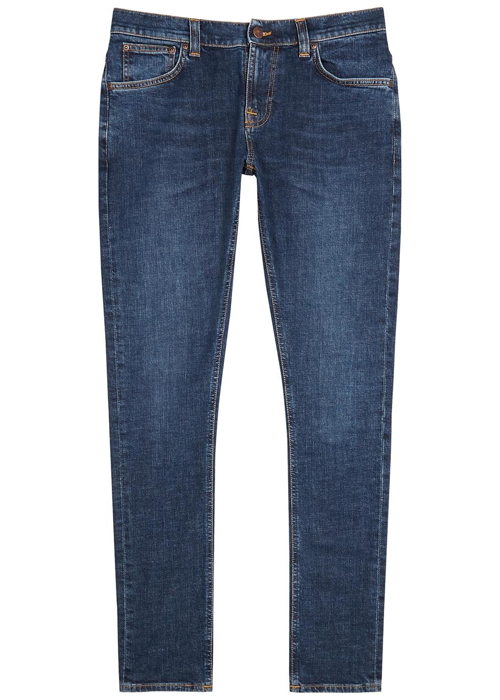 Tight Terry dark blue skinny jeans