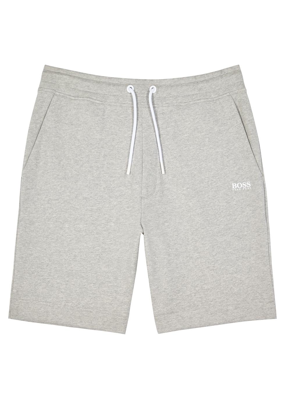 Skeevito grey jersey shorts
