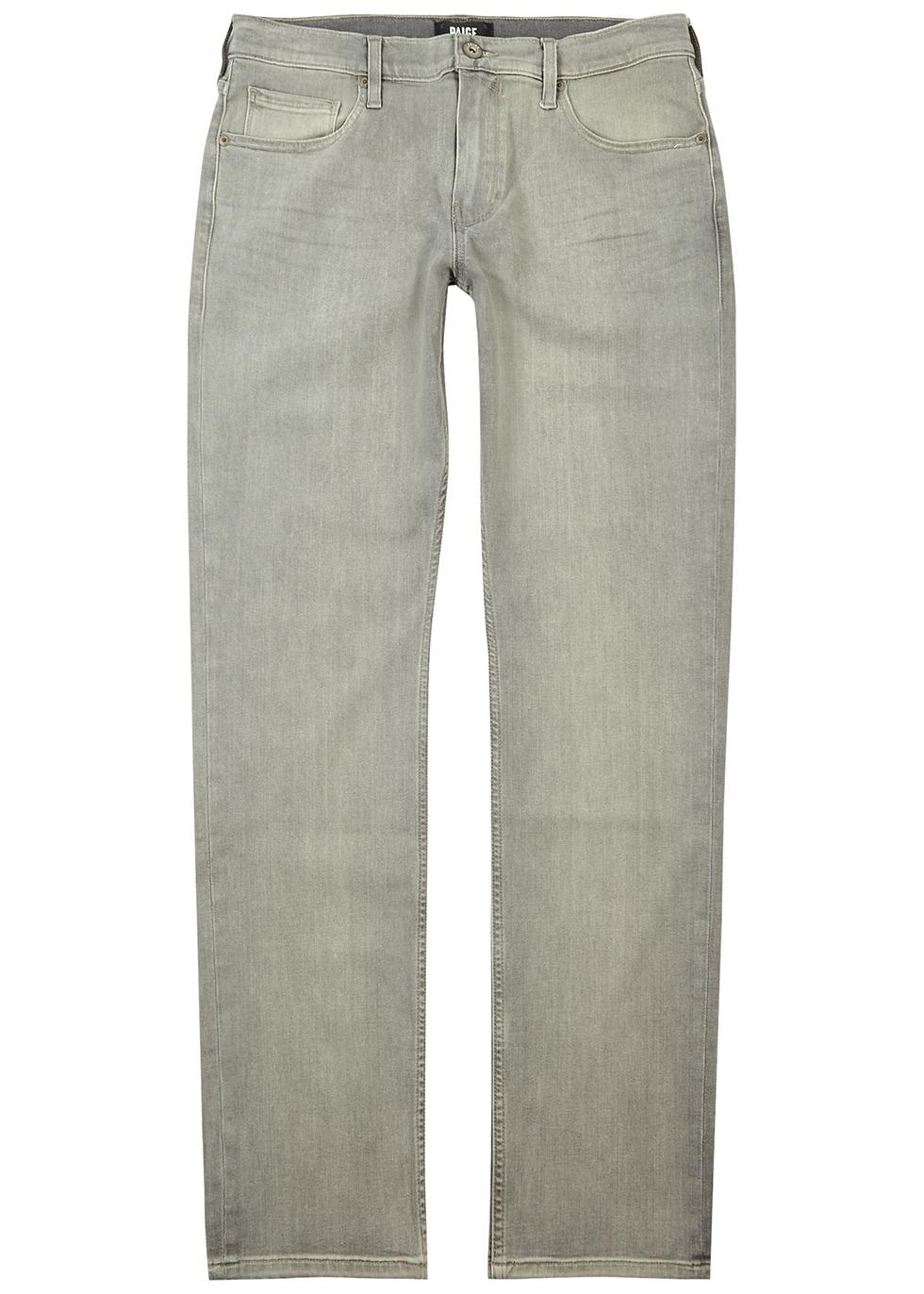 Federal light grey slim-leg jeans