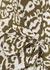 Debbie printed silk-satin wrap blouse - Diane von Furstenberg