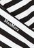 Acline monochrome striped bikini briefs - Max Mara Beachwear