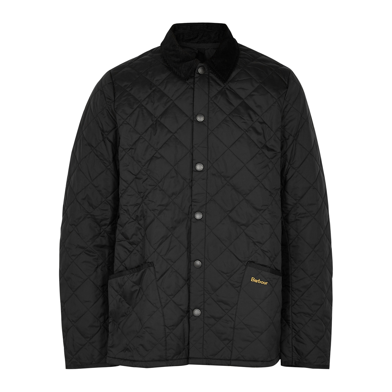 Liddesdale black quilted shell jacket