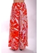 Margot floral palazzo trouser in red - Traffic People