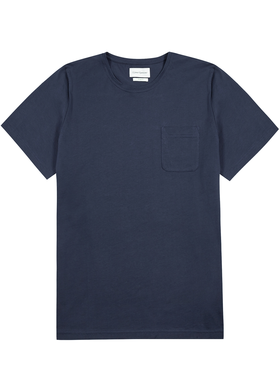 Conway navy cotton T-shirt