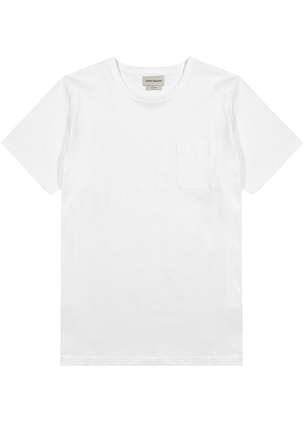 Conway white cotton T-shirt