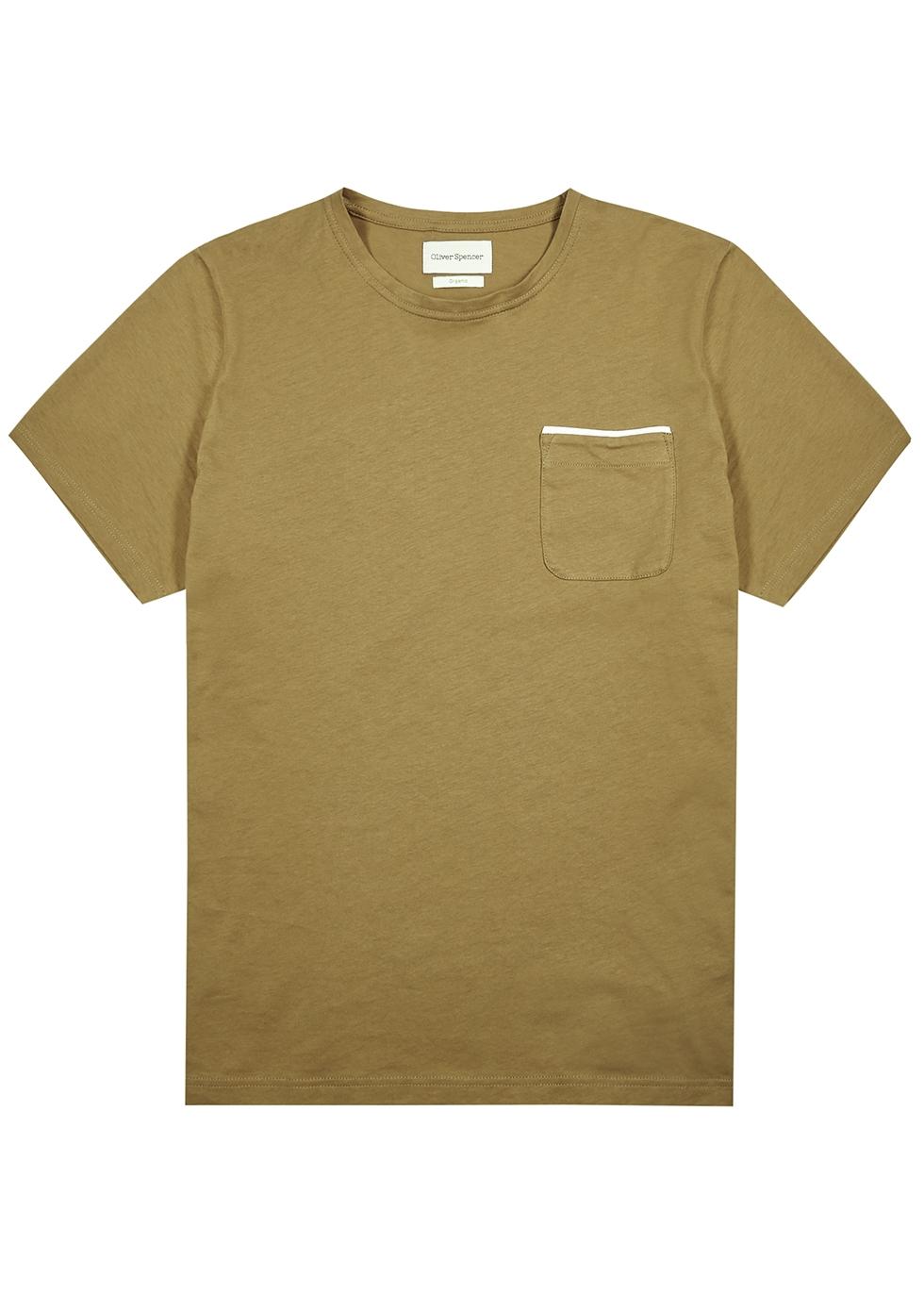Warren olive cotton T-shirt