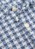 Ebley blue checked cotton shirt - Oliver Spencer